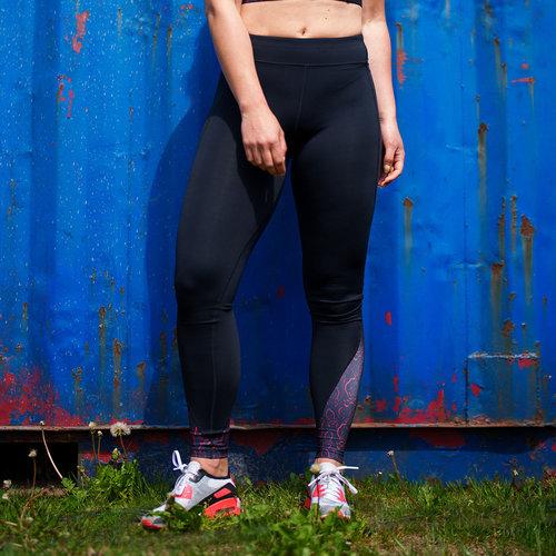 Defqon.1 Warrior workout legging black