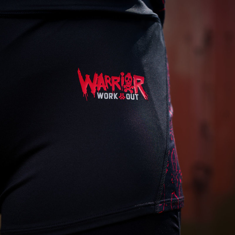 Defqon.1 Warrior workout shorts black