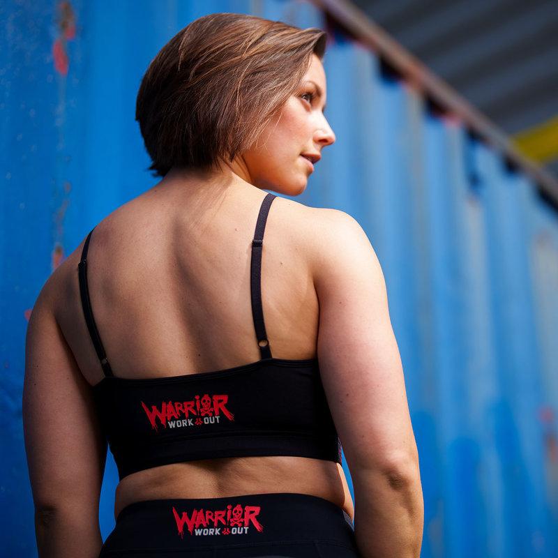 Defqon.1 Warrior Workout sport top black