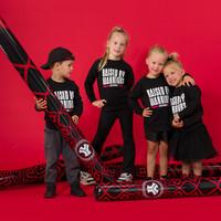 Defqon.1 crewneck kids black/white