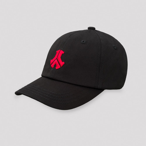 Defqon.1 baseball cap kids black/red