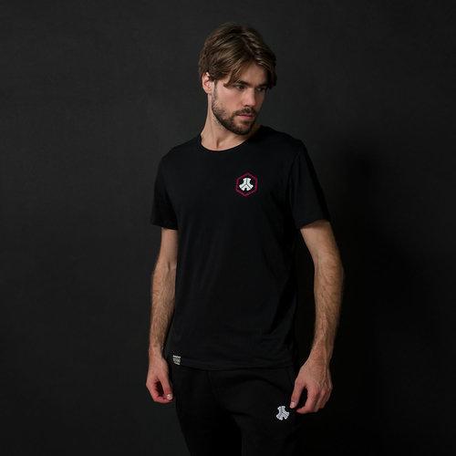 Defqon.1 t-shirt black/burgundy