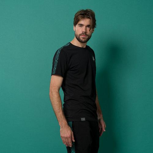Defqon.1 t-shirt black/petrol