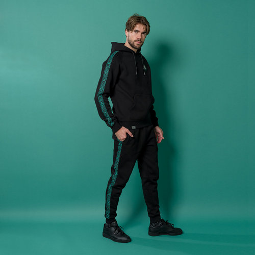 Defqon.1 jogging pants black/petrol