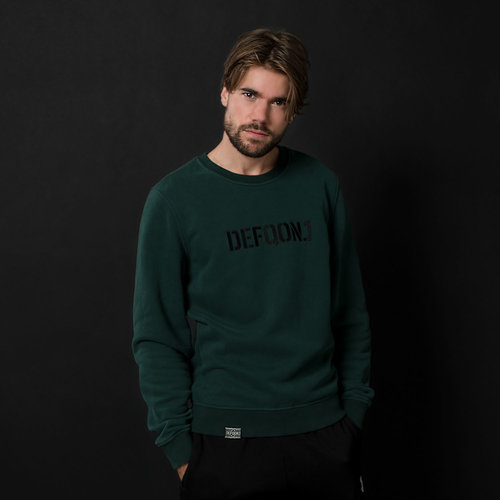 Defqon.1 crewneck green/black