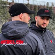 Rebelion windjacket black/red