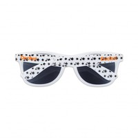 DECIBEL SUNGLASSES WHITE PATTERN