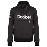 DECIBEL WINDJACKET HALFZIP BLACK