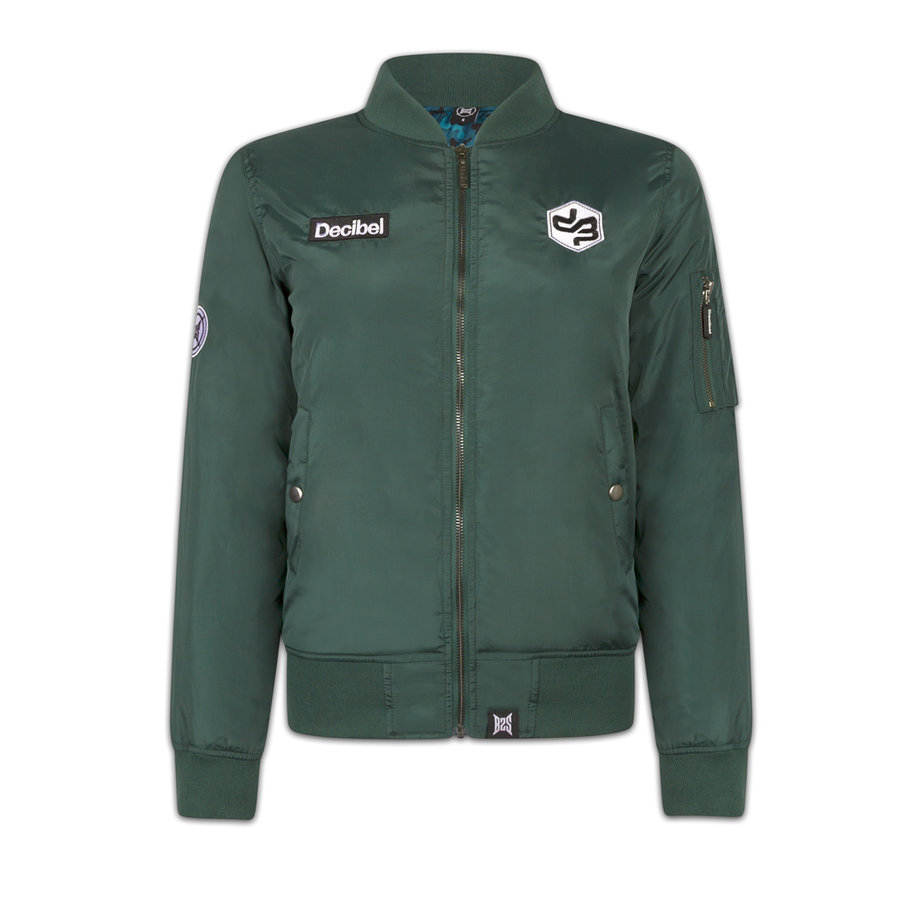 DECIBEL BOMBER GREEN