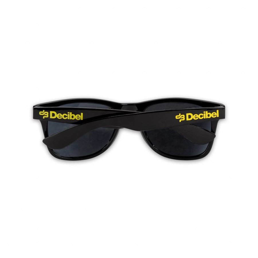DECIBEL SUNGLASSES BLACK YELLOW