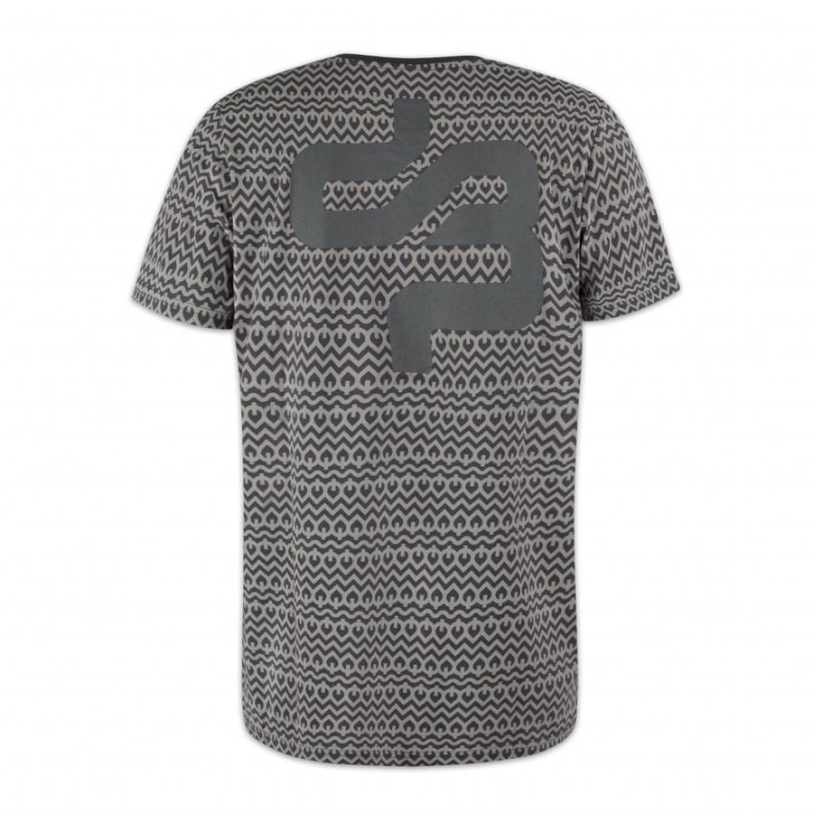 DECIBEL ALL OVER T-SHIRT ANTHRACITE