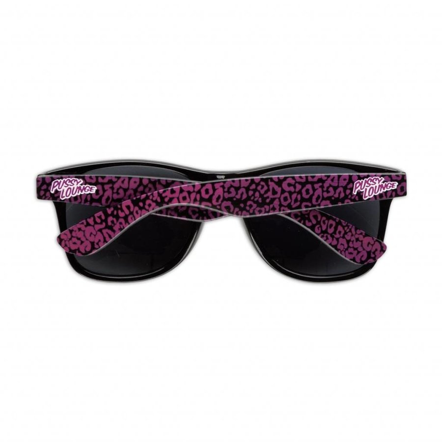 PUSSY LOUNGE SUNGLASSES BLACK / PINK