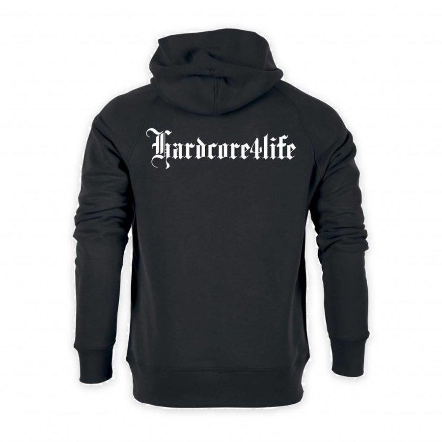 HARDCORE 4 LIFE HOODIE BLACK