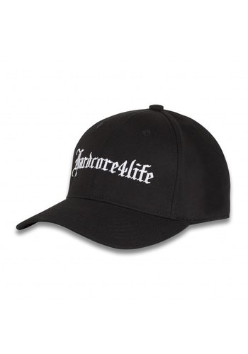 HARDCORE 4 LIFE BASEBALLCAP BLACK