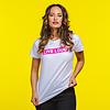 Decibel Decibel boyfriend t-shirt white/pink