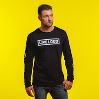 Decibel longsleeve black/white