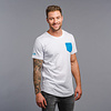 Decibel Decibel t-shirt white/blue