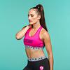 Decibel Decibel sport bra pink/black