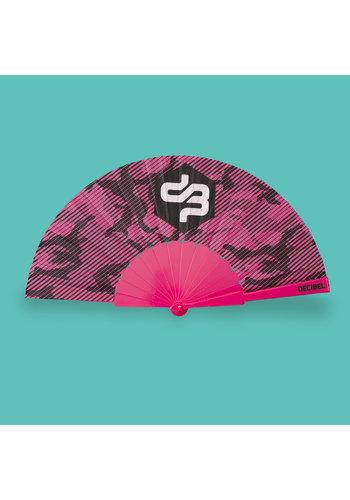 Decibel handfan pink/camo