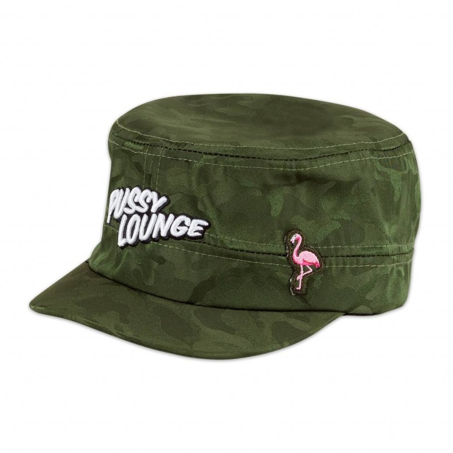 PUSSY LOUNGE HAT CAMO