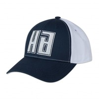 HARD BASS BASEBALLCAP NAVY