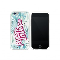 PUSSY LOUNGE MINT PATTERN IPHONE 6 CASE