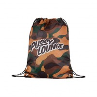 PUSSY LOUNGE STRINGBAG DOUBLE PRINTED