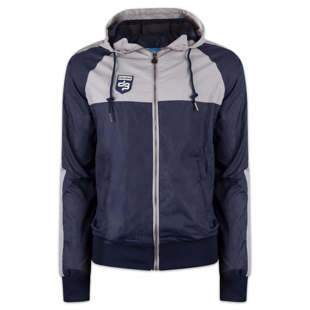 DECIBEL WINDJACKET NAVY