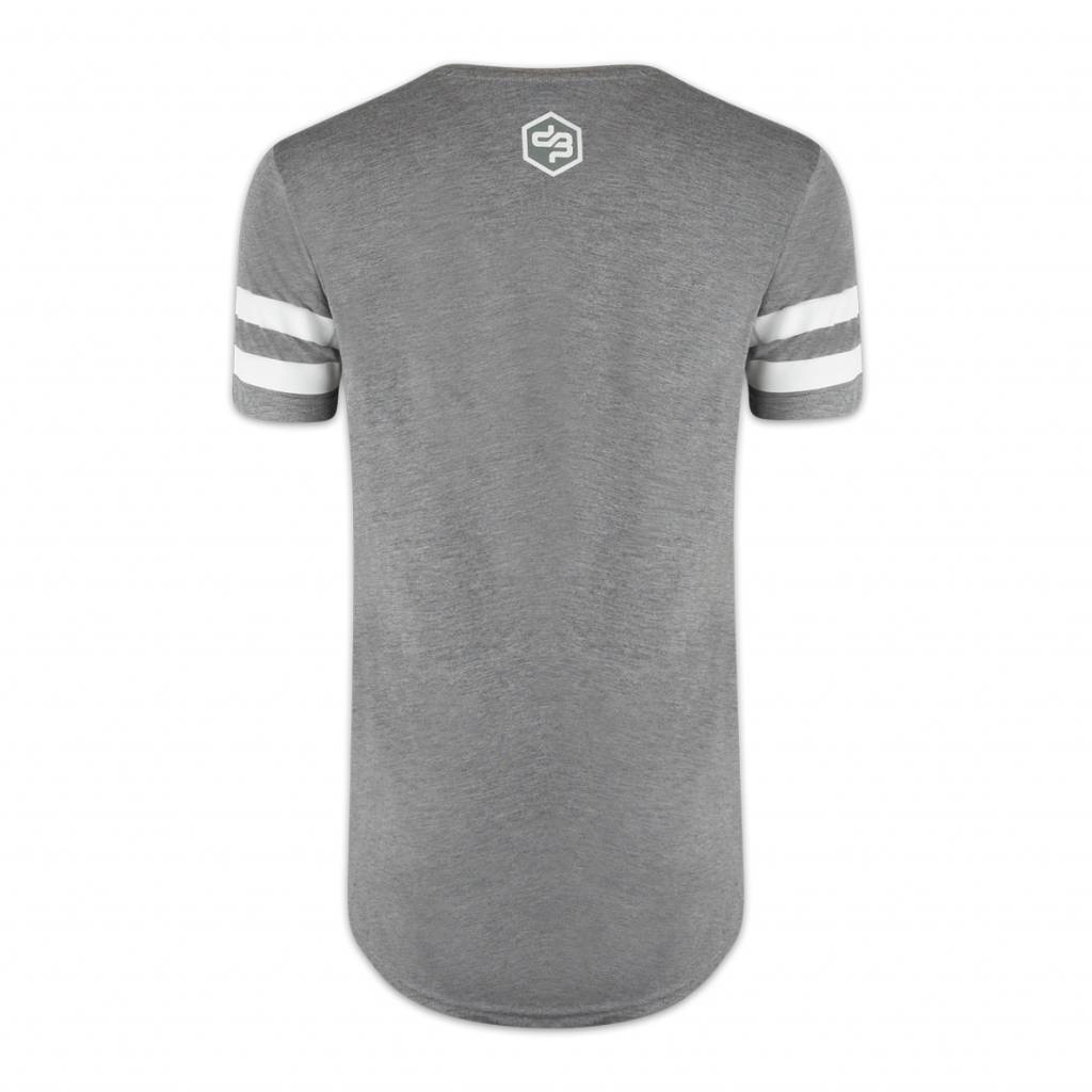 DECIBEL LONG T-SHIRT HEATHER GREY