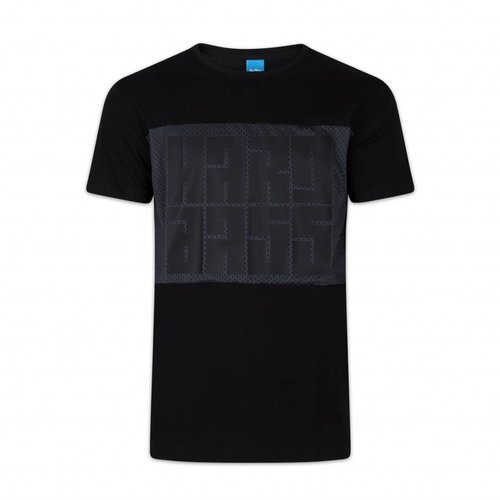 HARD BASS T-SHIRT MESH BLACK