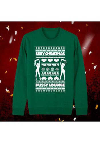 Pussy Lounge Christmas crewneck
