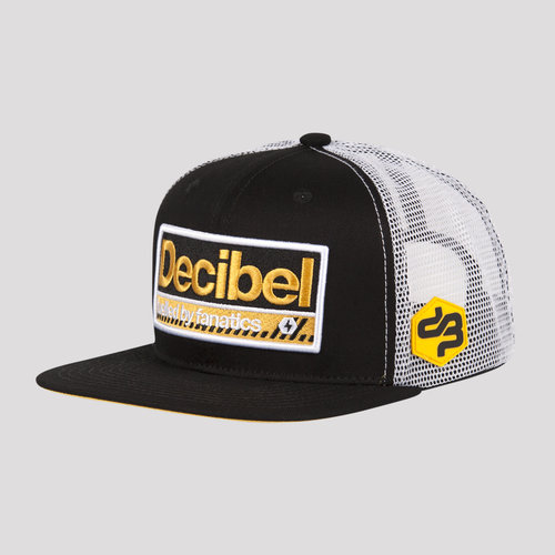 DECIBEL SNAPBACK BLACK/YELLOW