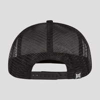 DECIBEL TRUCKER CAP BLACK/WHITE
