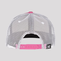 PUSSY LOUNGE SNAPBACK PINK/WHITE