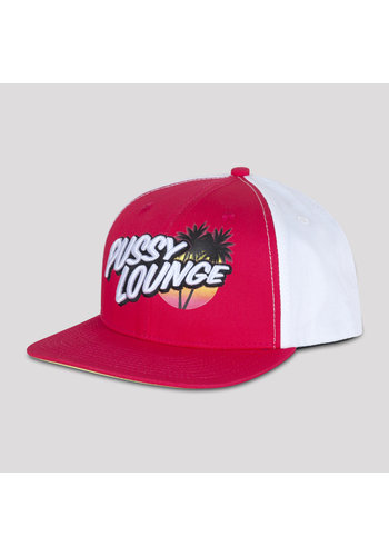 PUSSY LOUNGE SNAPBACK PINK TROPICAL