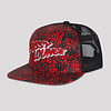 Pussy Lounge PUSSY LOUNGE TRUCKERCAP RED CAMO ALL OVER PRINT