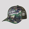 Pussy Lounge PUSSY LOUNGE TRUCKERCAP GREEN CAMO