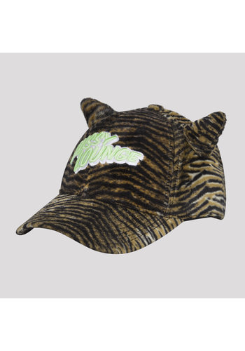 PUSSY LOUNGE BASEBALL CAP TIGER
