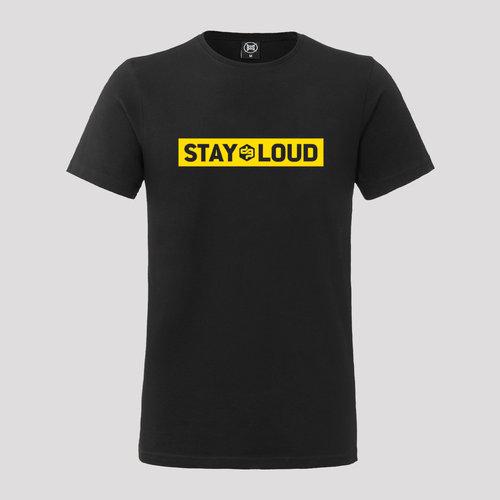 Decibel t-shirt yellow/black