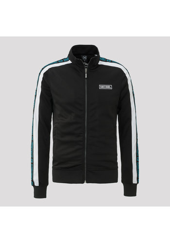 Decibel track jacket black