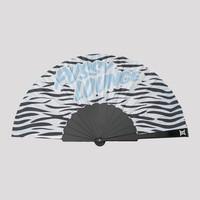 Pussy Lounge handfan black/zebra