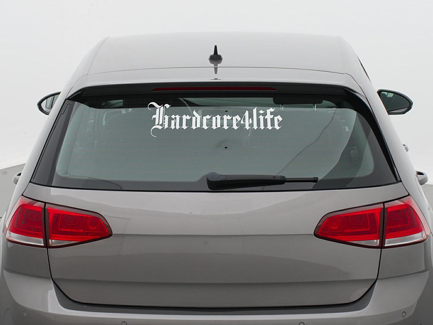 HARDCORE4LIFE CAR STICKER