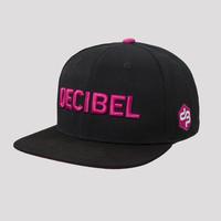 Decibel snapback black/pink
