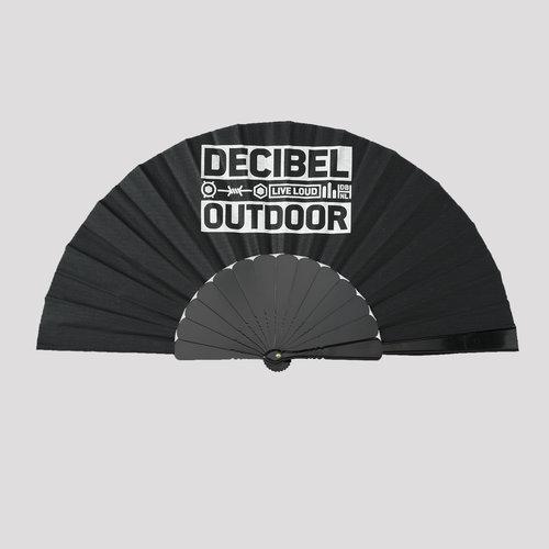 Decibel handfan black/white
