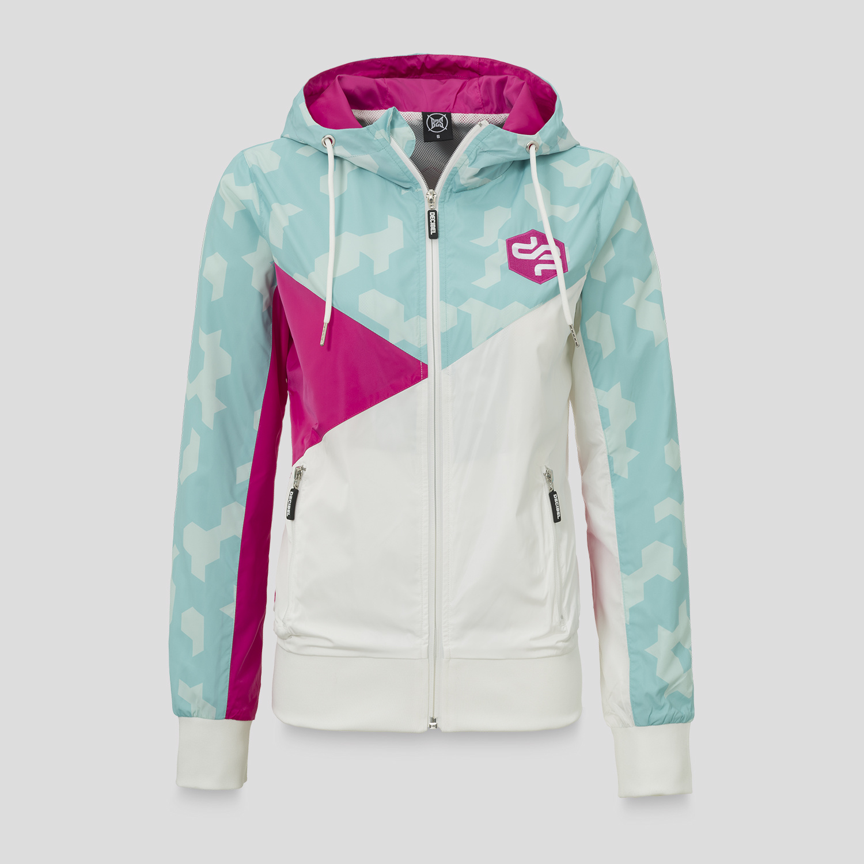 Decibel windjacket blue/pink