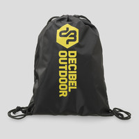Decibel stringbag black/yellow