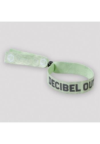 Decibel woven bracelet mint