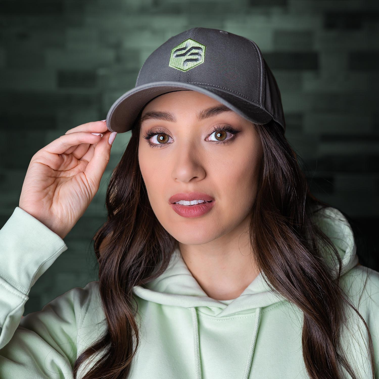 Decibel baseball cap grey/mint
