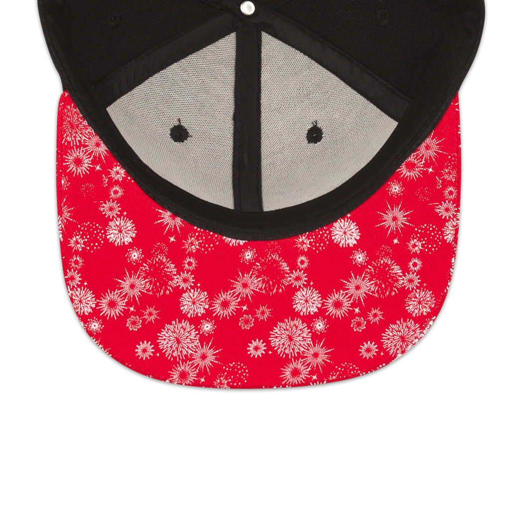 SNAPBACK BLACK/RED/WHITE
