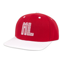 SNAPBACK RED/WHITE